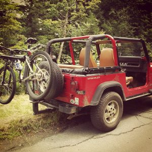 Sarah's modes of transportation for 30 hours! Photo by Sarah Cota