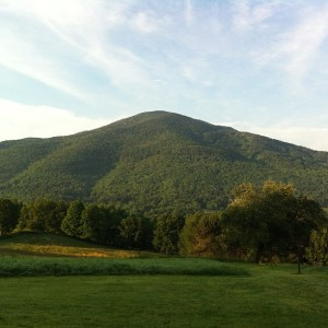 Mt Ascutney at 6:45 AM Photo by Sarah Cota